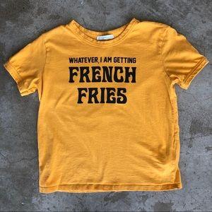 Zara   I'm Getting French Fries T-Shirt